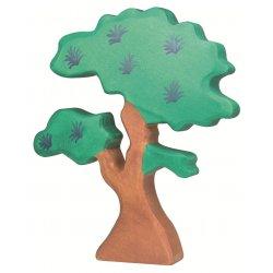 Árbol grande. Holztiger. Juguete de madera.