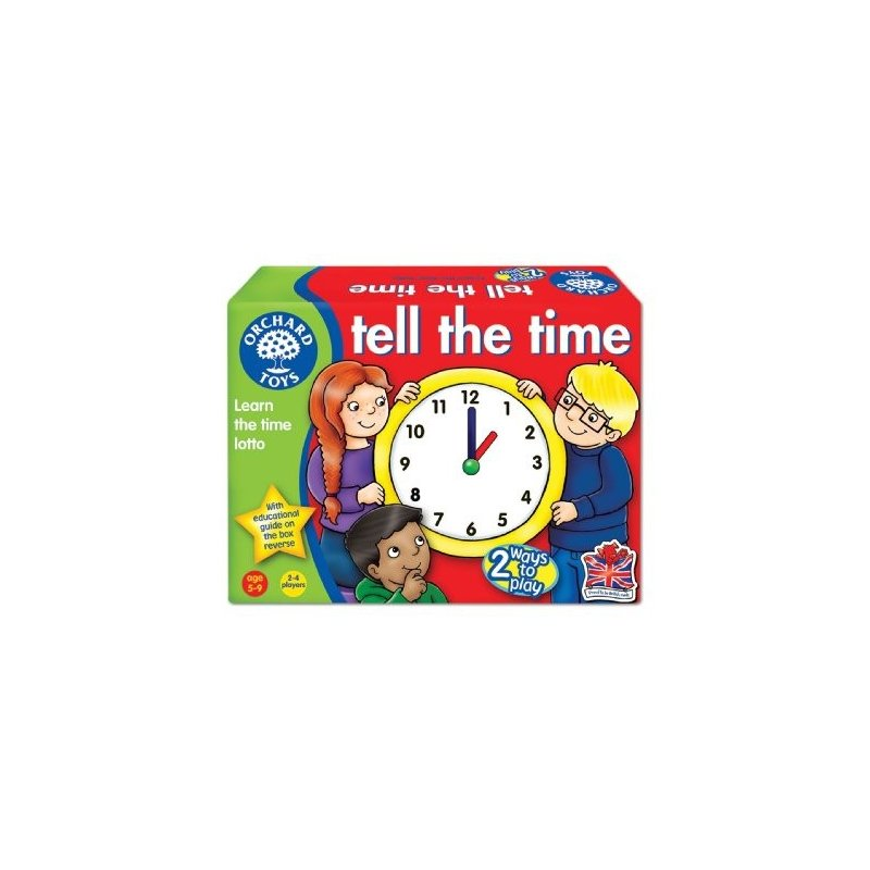 Joc les hores en anglès de Orchard Toys