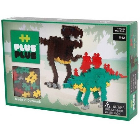 Plus-Plus Mini Basic 480 peces Dinosauris
