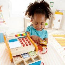 Caixa registradora de joguina Hape