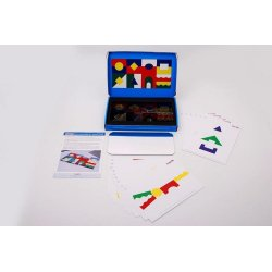 Colour Acrylic Block Set Tickit 72606