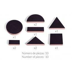 Formes geomètriques grans de pissarra