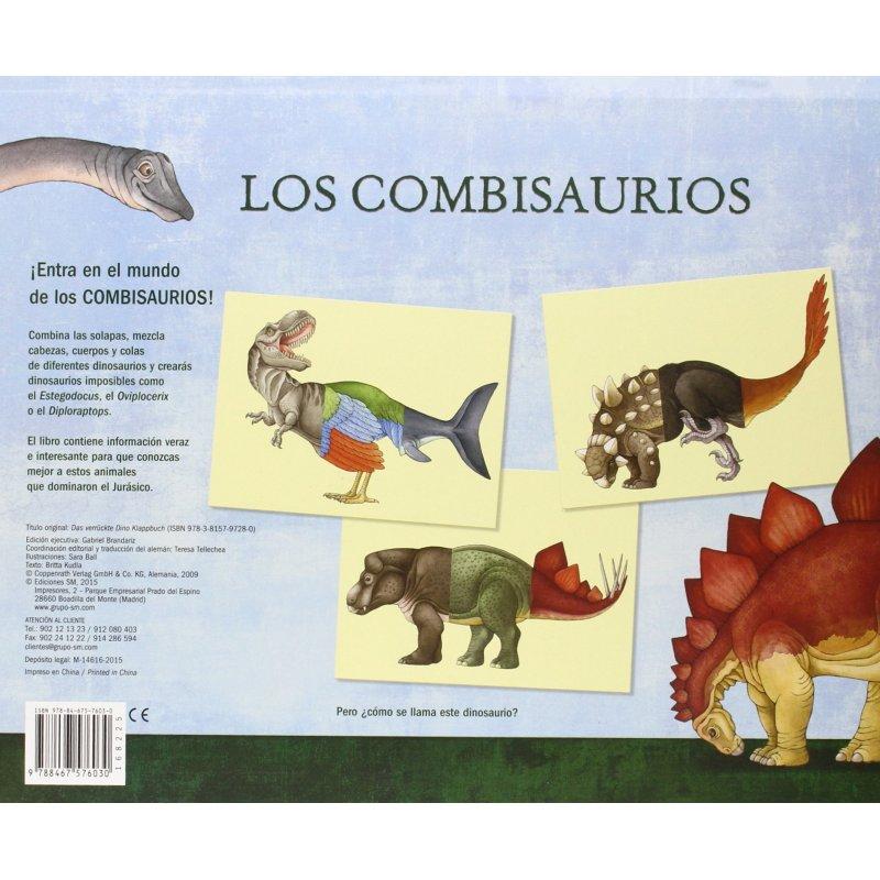 Libro juego Los combisaurios de Sara Ball Ediciones SM