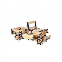 Joc de construcció per a nens amb tauletes de fusta