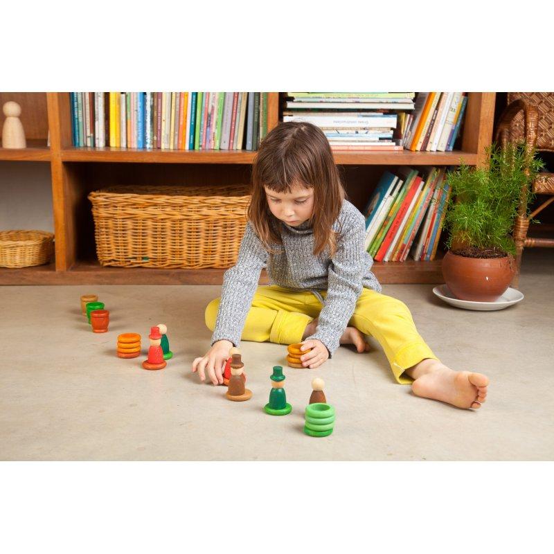 Elements de joc Pedagogía Waldorf