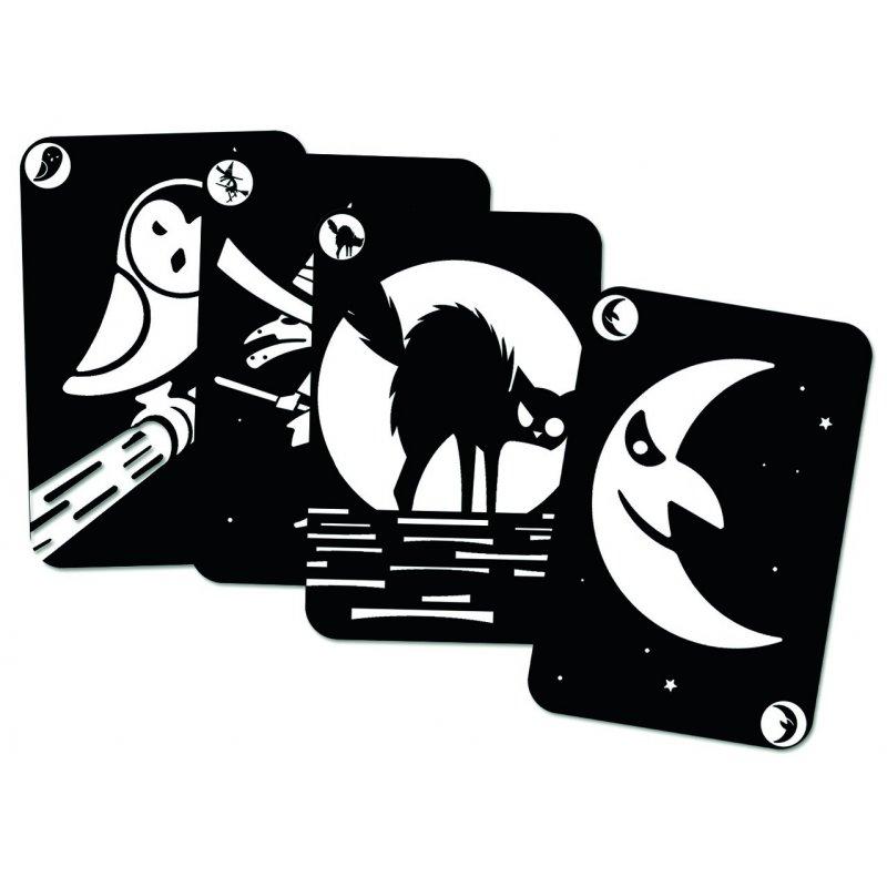Joc de cartes per fer parelles Mistiboo Fosforescents de Djeco