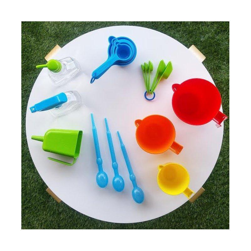 Elementos de juego para el agua y la arena