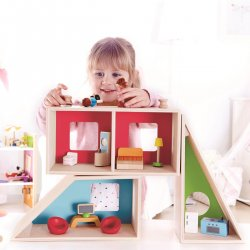 Casa de muñecas geométrica