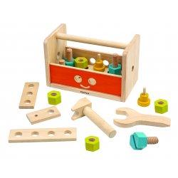 Caixa d'eines de fusta