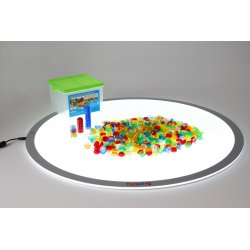 Translucent stackable counters Tickit 73091