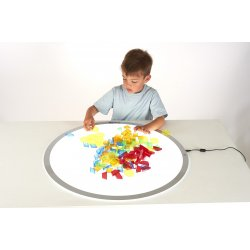 Translucent Pattern Blocks Tickit 73093