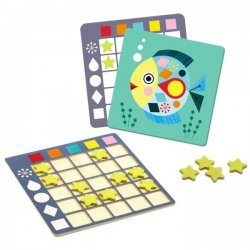 Joc de doble entrada de colors i formes