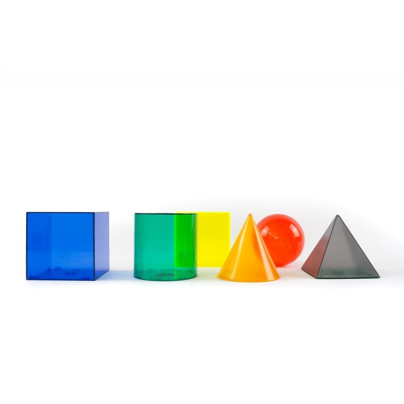 6 Formes geomètriques amb volum