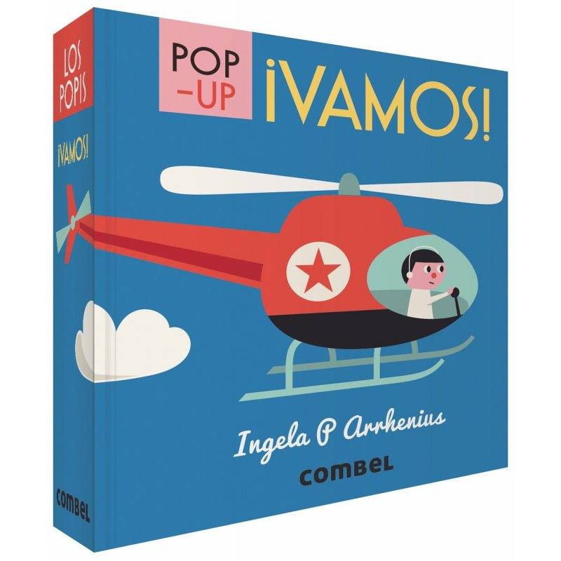 Pop-up Som-hi! Editorial Combel.  Ingela P. Arrhenius