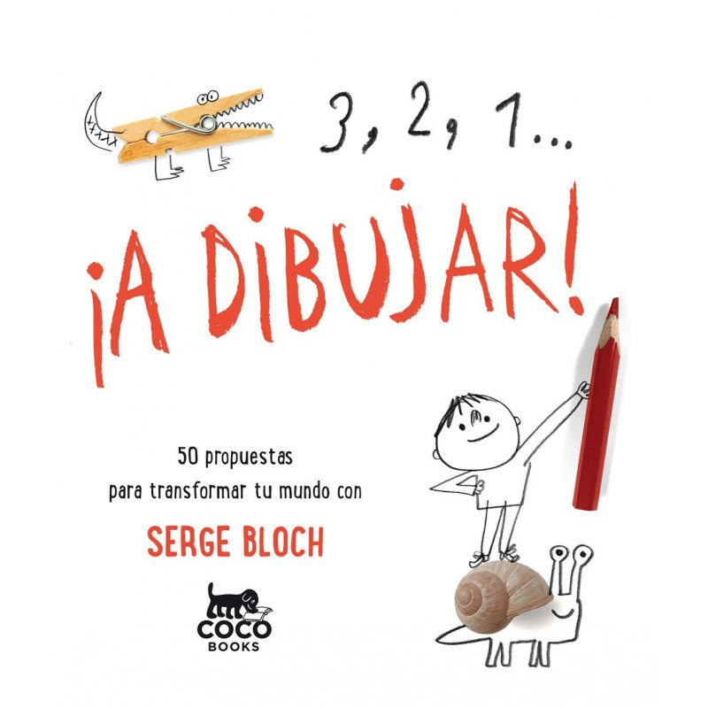 3, 2, 1... A dibuixar!. Editorial Coco Books. Serge Block