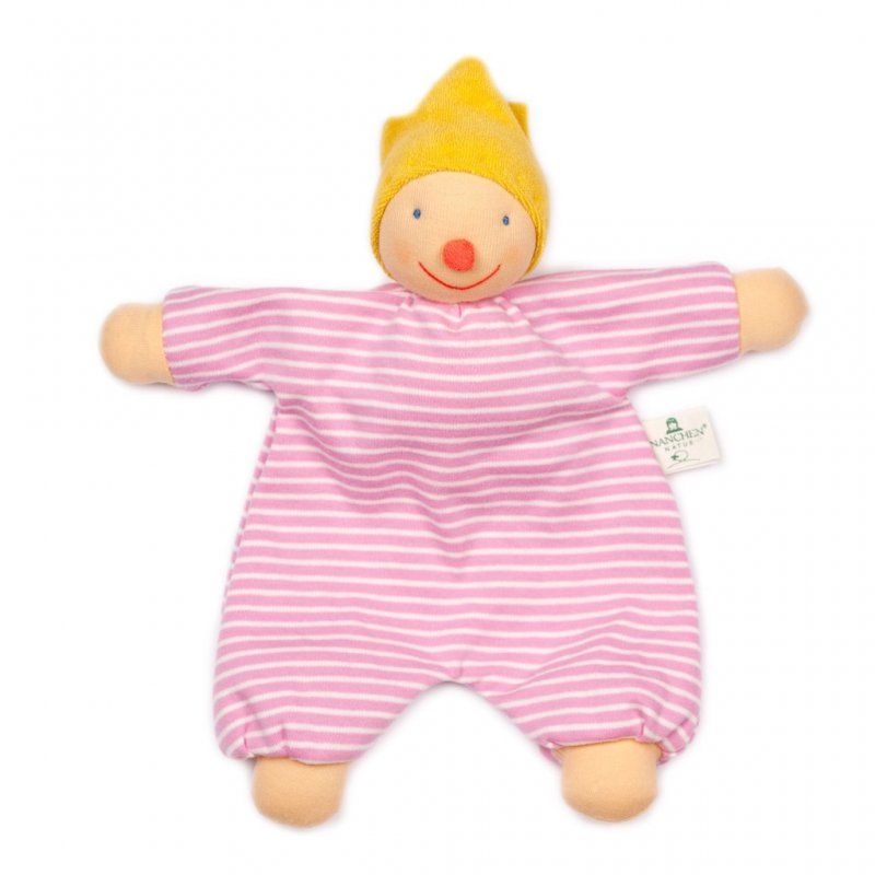 Doudou Amic de somnis rosa para bebés