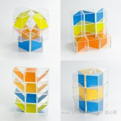 Weplay Art Blocks - Pattern Cubes 16pcs