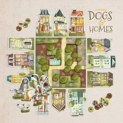 Dogs and Homes. Marbushka