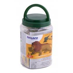 Pack de animales salvajes. Miniland