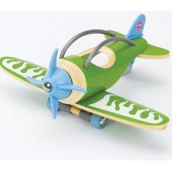 Avión de bambú