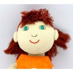 Muñeca de tela Zoe de Fürnis