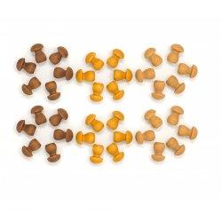 36 petits bolets per a mandala