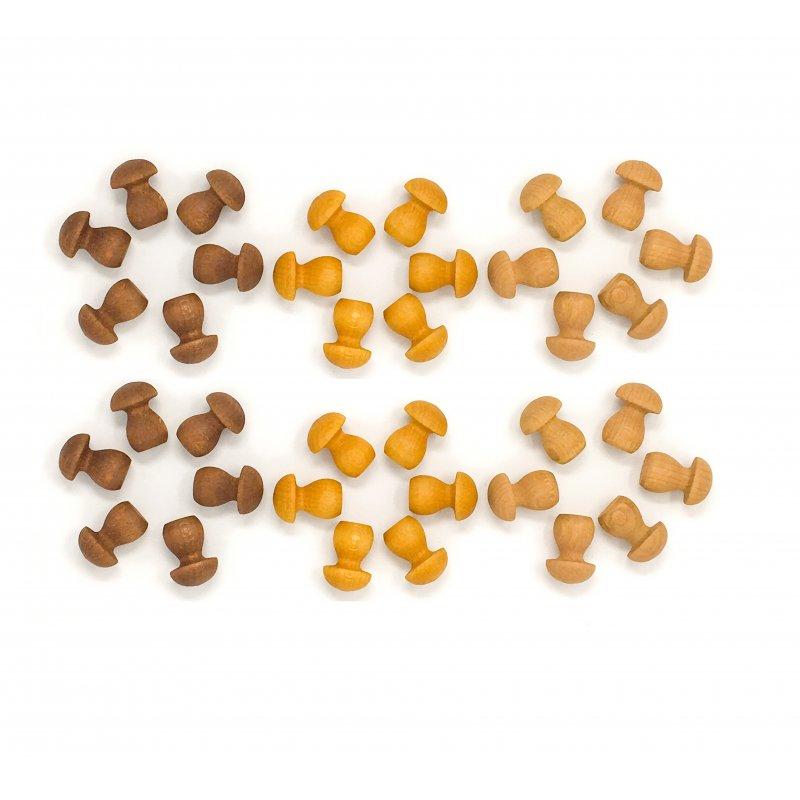 36 pequeñas setas para mandala. Grapat