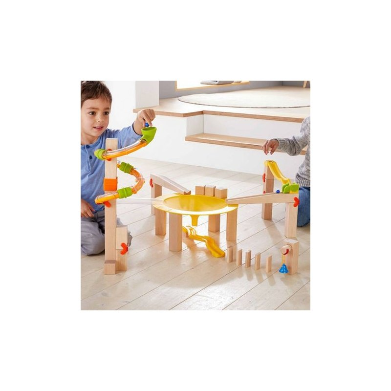 Pista de caniques Funnel Jungle de Haba