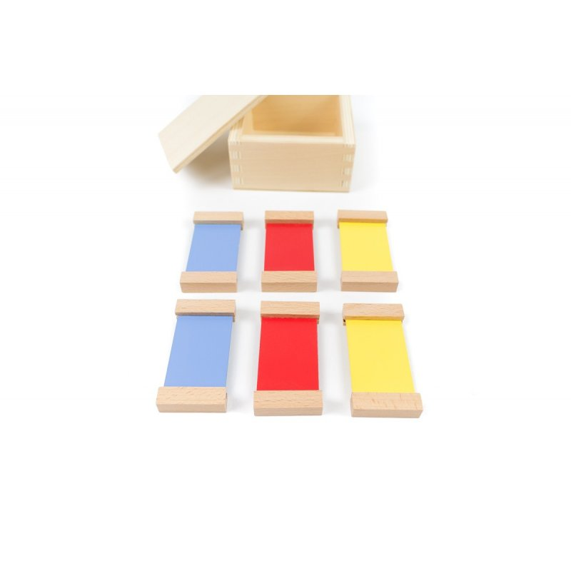 Caixa color nº1 montessori