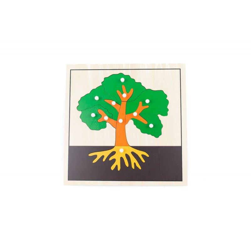 Puzle de fusta arbre montessori
