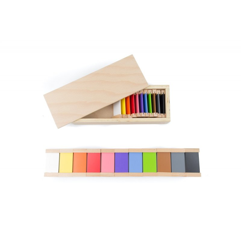 Caixa de color nº2 Montessori