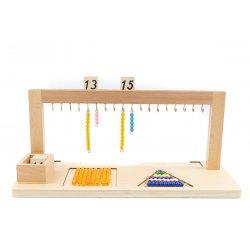 Material Montessori de números