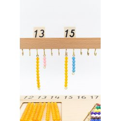 Matemáticas con perlas Montessori