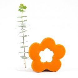 Mordedor Flor naranja. 100% Latex. Lanco Toys