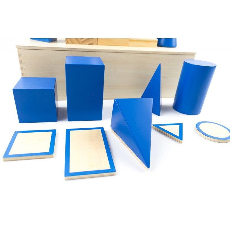 Figuras geométricas montessori