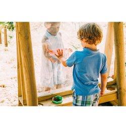 Pizarra de jardín para niños. PlumPlay