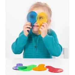 paletas translúcidas para niños