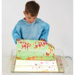 Safata sensorial per a líquids per a nens