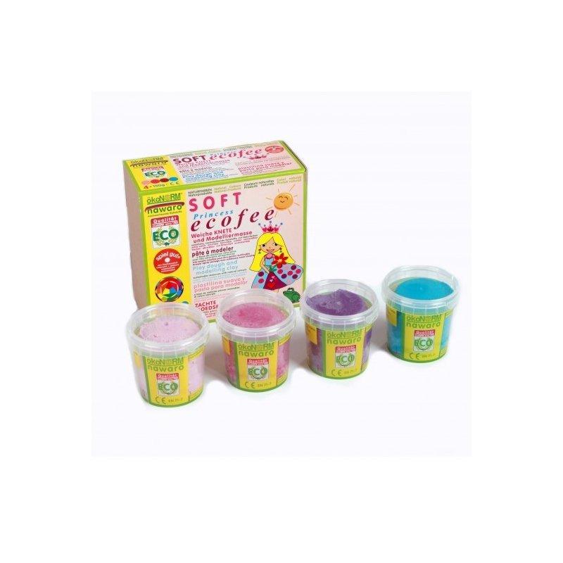 Plastilina blanda y acológica para niños. Nawaro Okonorm