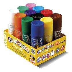 Playcolor Mural 12 colors, témpera sòlida per a nens.