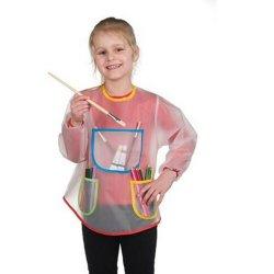Davantal de pintar per a nens. Per protegir la roba. Opitec