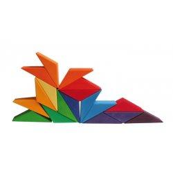 Puzzle creativo Estrellas multicolor