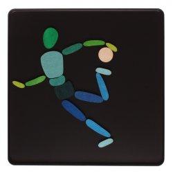 Puzzle Magnético Cuerpos en Movimiento