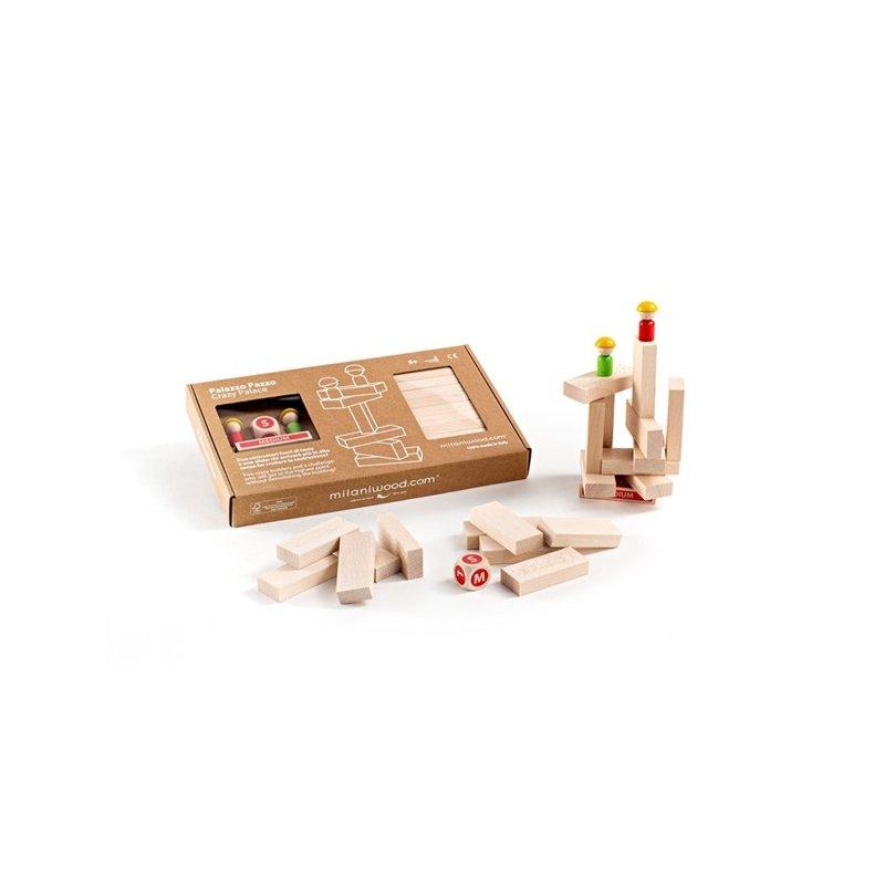 Palacio loco Milaniwood juego mesa construccion