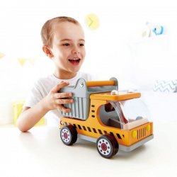 Camión volquete móvil juguete Hape
